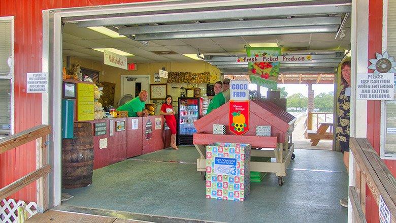 Curbside Market and Milkshakes