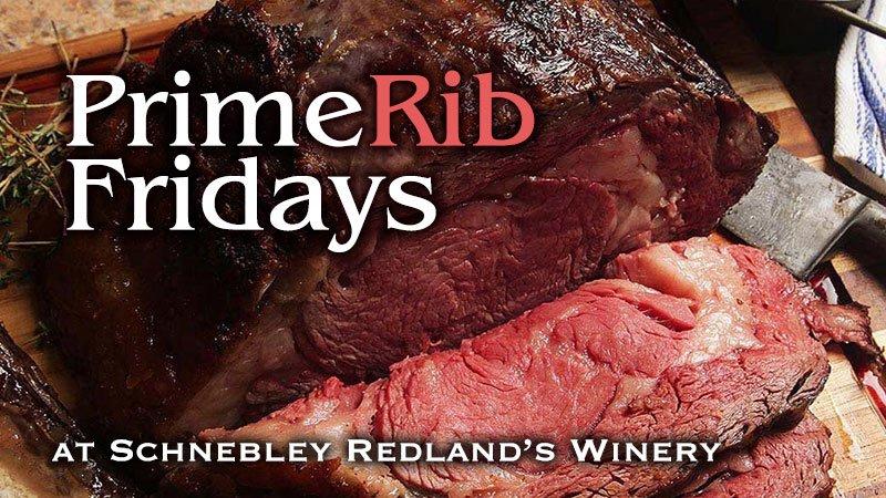 Prime Rib Friday at Redlander Restaurant