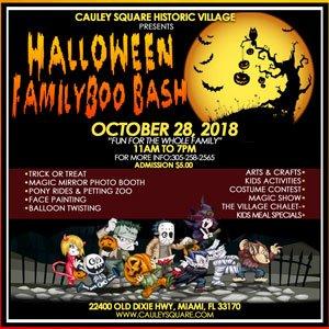 Halloween Family BooBash at Cauley Square