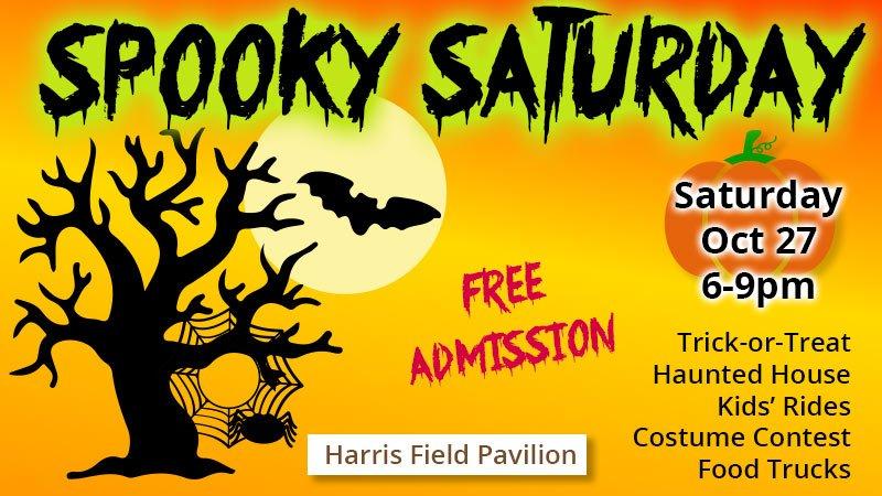 Spooky Saturday at Harris Field Pavilion