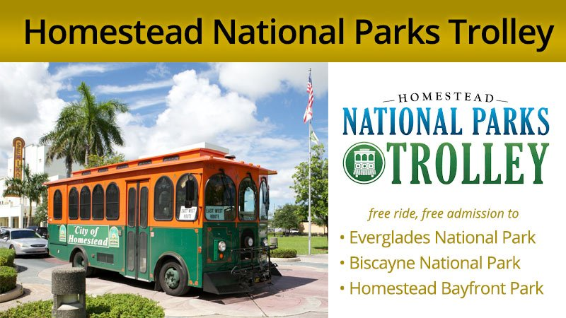 Homestead National Parks Trolley Special Holiday Service