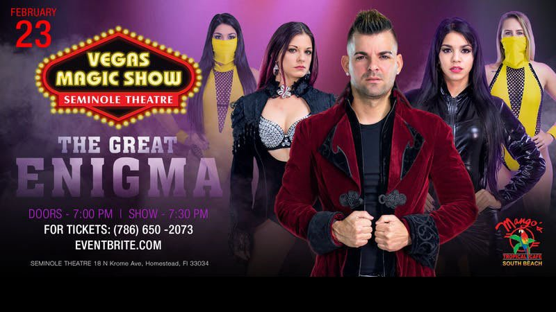 Vegas Magic Show - The Great Enigma