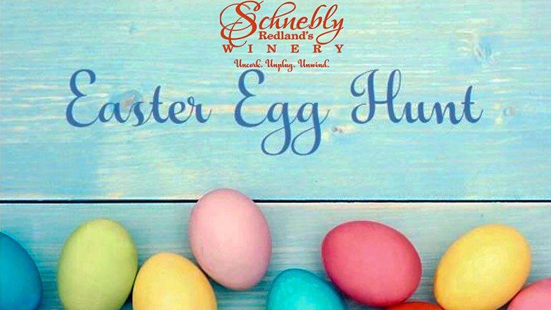 Egg Hunt - Easter Sunday at Schnebly