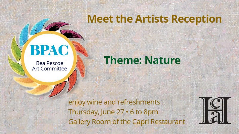 Meet the Artists Reception - Homestead Center For The Arts