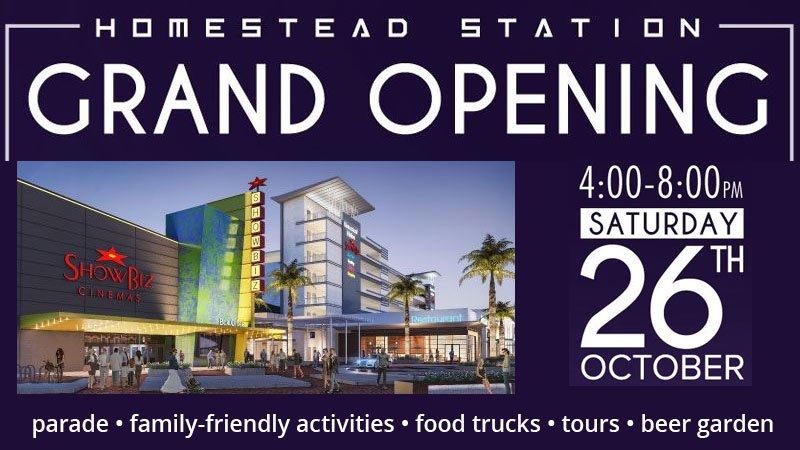 Homestead Station Grand Opening Celebration