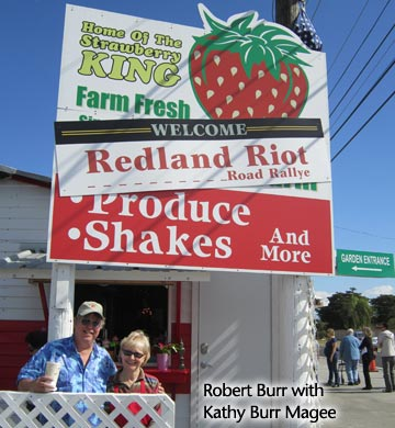 The annual Redland Riot Road Rallye on the third Saturday in January