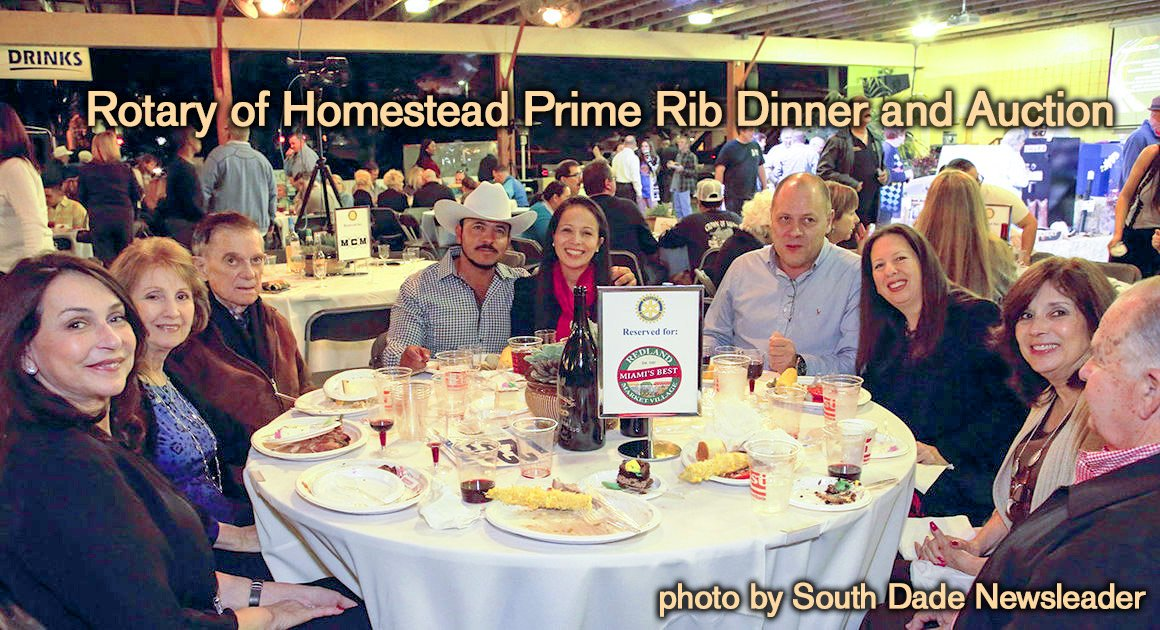 Rotary of Homestead Prime Rib Dinner and Auction