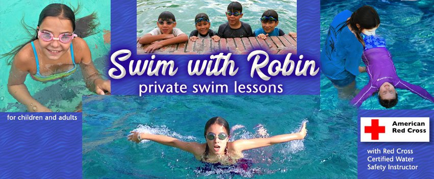 Learn to swim with Robin