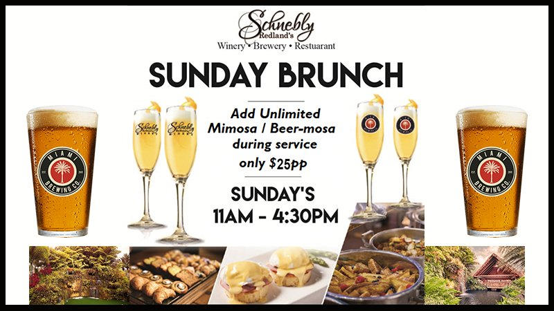 Sunday Brunch at the Redland Restaurat, Schnebly Redland's Winery