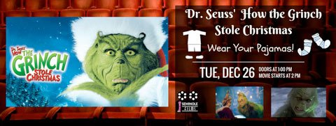 How The Grinch Stole Christmas & Pajama Party
