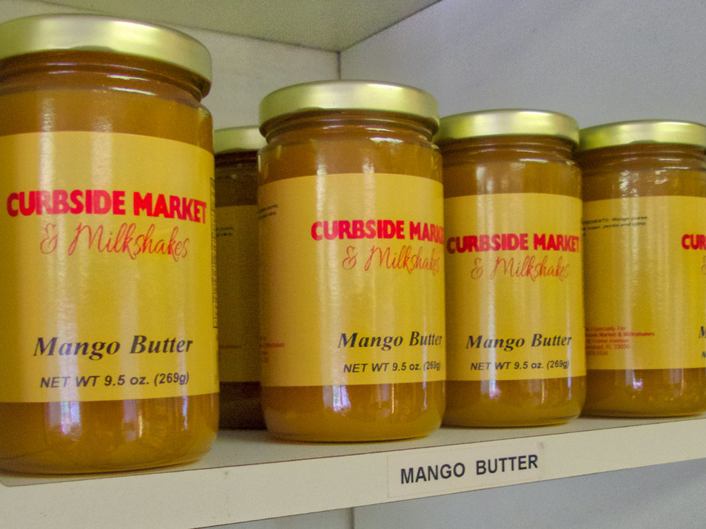 fruit butters at Curbside Market