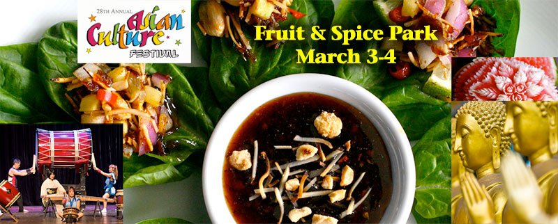 2018 Asian Culture Festival at Fruit and Spice Park