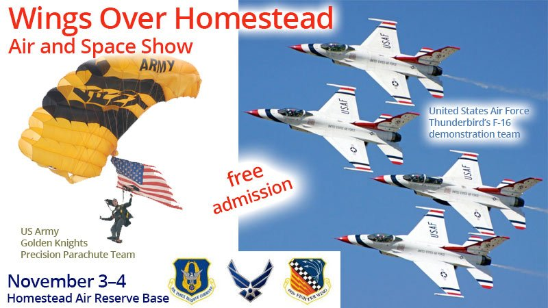 Wings Over Homestead Air and Space Show