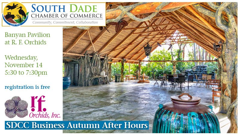 South Dade Chamber of Commerce Business Autumn After Hours