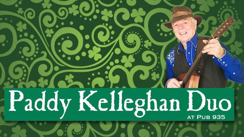 Paddy Kelleghan Duo Live at Pub 935