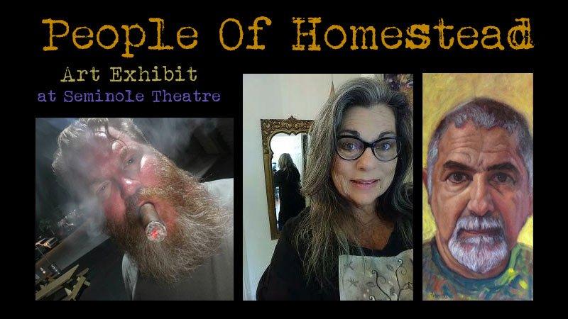 """The People of Homestead"" art show exhibit"