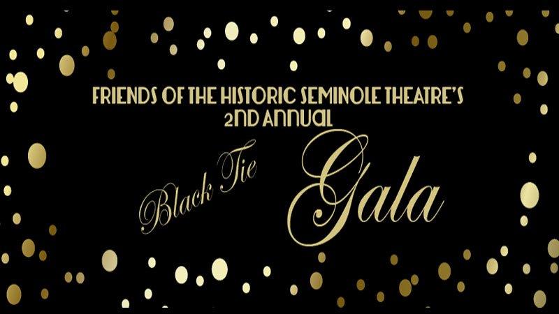 Seminole Cultural Arts Theatre's 2nd Annual Black Tie Gala