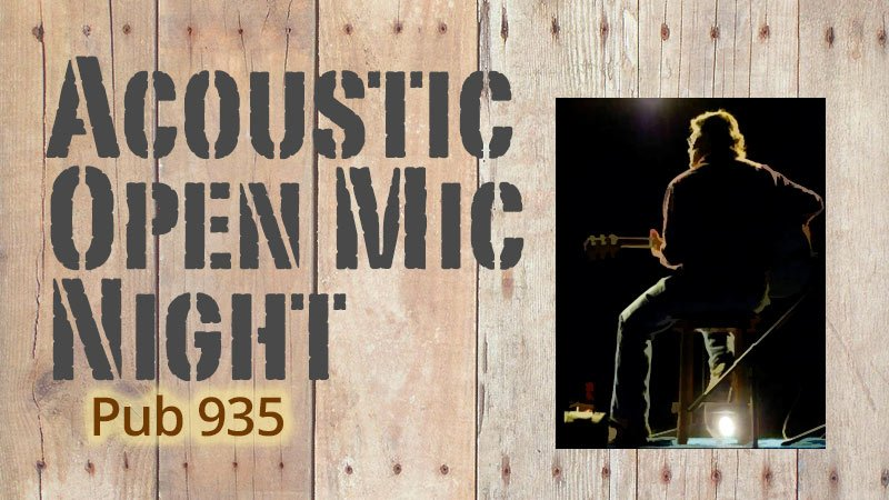 Acoustic Open Mic Night at Pub 935