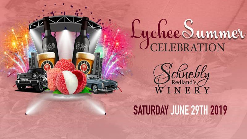 The 4th annual Lychee Summer Celebration at Schnebly Redland's Winery
