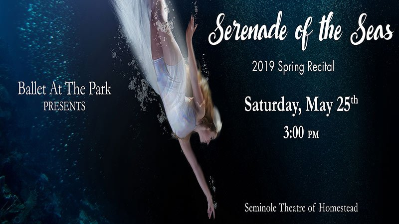 Serenade Of The Seas 2019 Spring Recital - Ballet At The Park Dance Studio