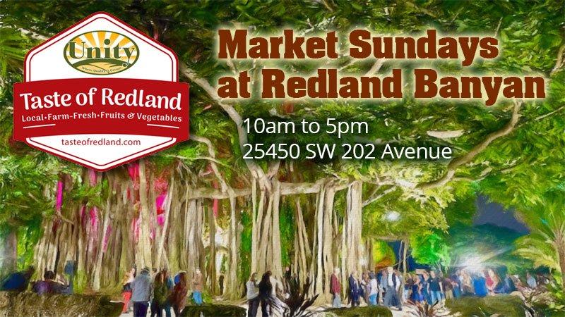 Market Sundays at Redland Banyan
