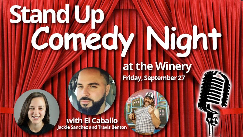 Stand Up Comedy Night at the Winery
