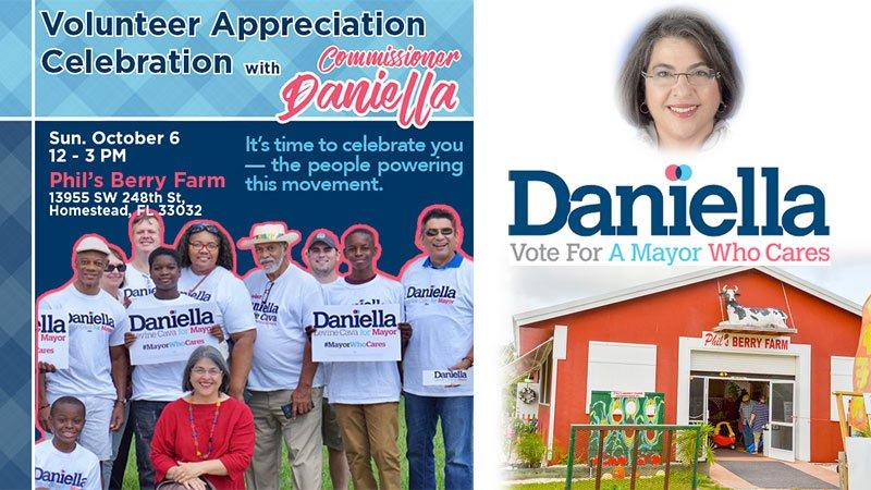 Volunteer Appreciation Celebration - Daniella Levin Cava