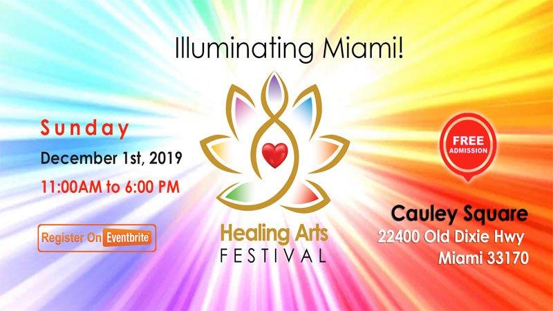 Healing Arts Festival at Cauley Square