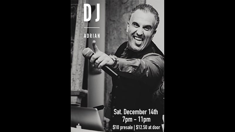 Saturday Night at the Winery with DJ Adrian