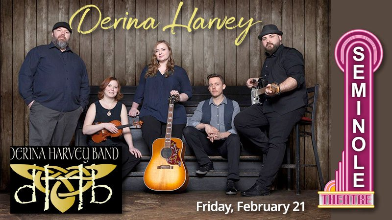 Derina Harvey Band at the Seminole Theatre