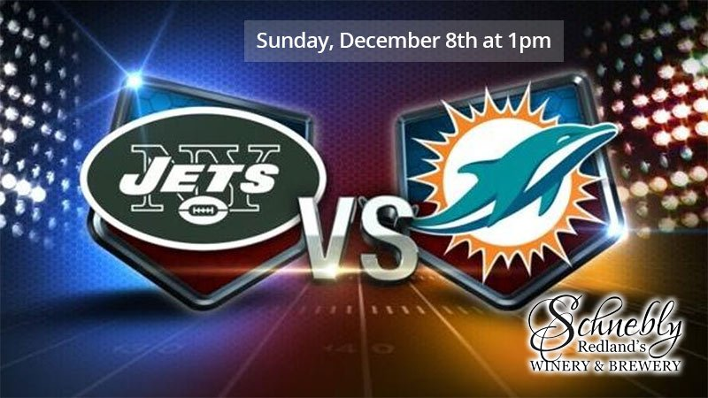 Sunday Football - Dolphins and Jets