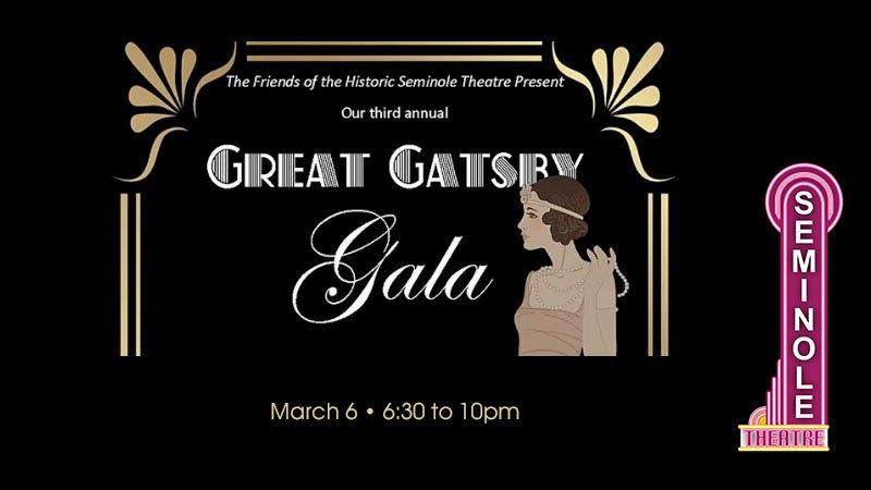 Seminole Cultural Arts Theatre's 3rd Annual Great Gatsby Gala