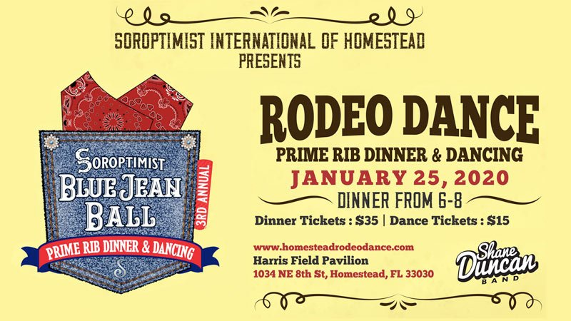 Blue Jean Ball- Homestead Rodeo Dance