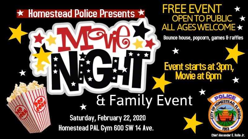 Movie with a Cop - Movie Night & Family Event