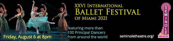 The XXVI International Ballet Festival of Miami 2021