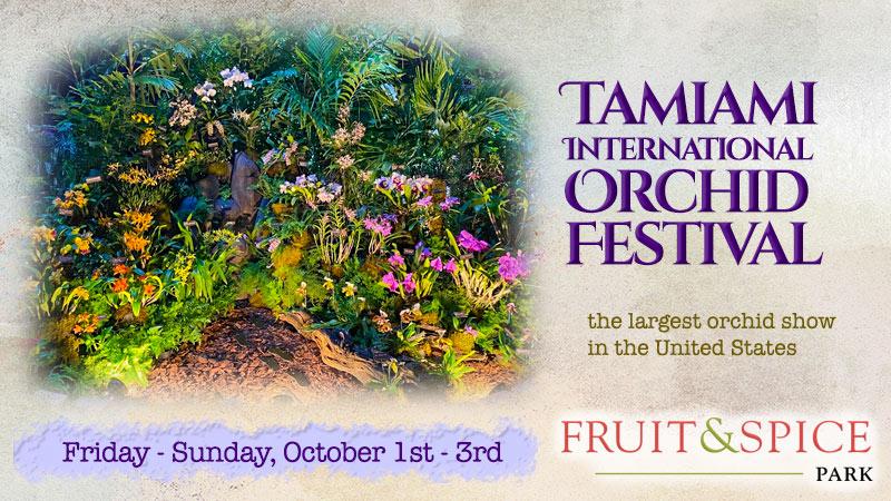Tamiami International Orchid Festival