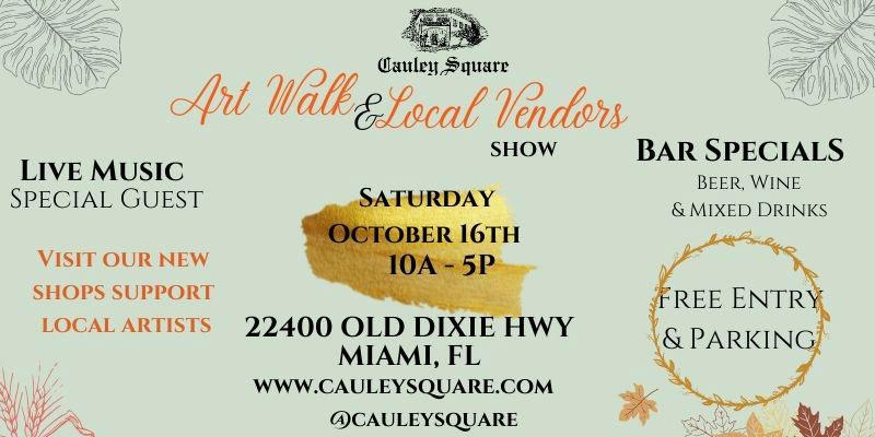 Art Walk & Local Vendors Show