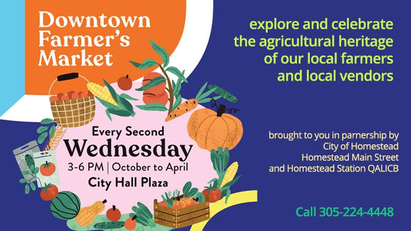 Downtown Homestead Farmer's Market
